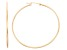 14k Yellow Gold 1.5mm Thick 40mm Hoop Earrings