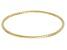 14k Yellow Gold Hammered Bangle Bracelet