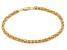 14k Yellow Gold Italian Petite Byzanite Bracelet