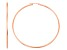 14k Rose Gold 2mm Thick 45mm Classic Hoop Earrings