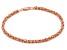 14k Rose Gold Italian Petite Byzanite Bracelet