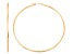 14k Yellow Gold 2mm Thick 40mm Classic Hoop Earrings