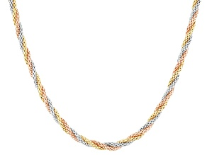 14k Tri-Color Gold 18