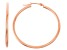 14k Rose Gold 2mm Thick 30mm Classic Hoop Earrings