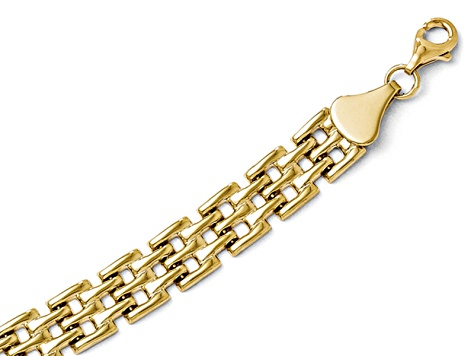 10k Yellow Gold Bracelet 7 inches