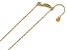 10k Yellow Gold 1mm Adjustable Singapore Chain 22 inches