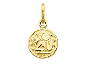 10k Yellow Gold Angel Charm