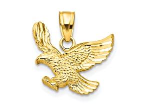 10k Yellow Gold Eagle Charm