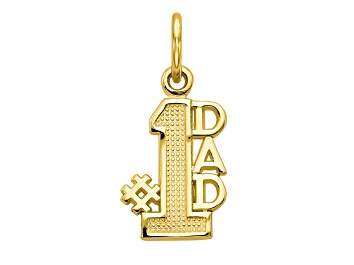 Picture of 10k Yellow Gold Dad Charm