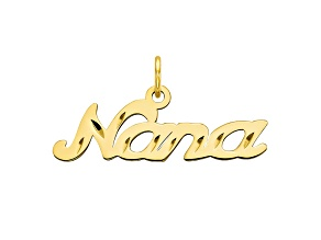 10k Yellow Gold Nana Charm