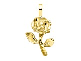 10k Yellow Gold Yellow Gold Rose Charm