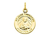 10k Yellow Gold St. Jude Medal