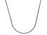 14k White Gold Diamond Cut Square Spiga Chain Necklace 16 inch