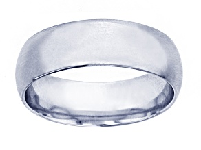 10k White Gold 5mm Band Ring