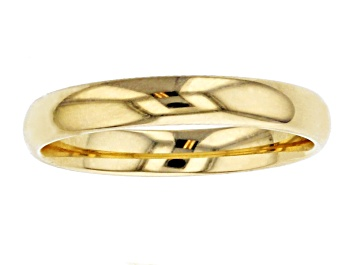 Picture of 10k Yellow Gold Comfort Fit Band Ring 3mm
