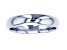 10k White Gold Polished Band Ring