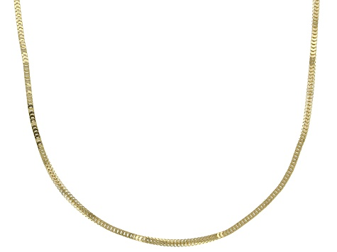 09f543703fa35 14k Yellow Gold Franco Link Chain Necklace 18 inch