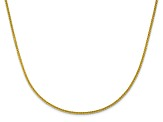 10k Yellow Gold 1.35mm Adjustable Wheat Chain 30 inches