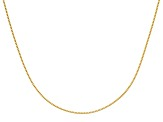 10k Yellow Gold .9mm Adjustable Box Chain 22 inches