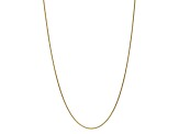 10k Yellow Gold 1.65mm Solid Polished Spiga Chain 20 inches