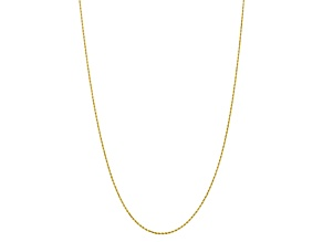 10k Yellow Gold 1.75mm Diamond Cut Rope Chain 30 inches