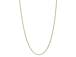 10k Yellow Gold 1.65mm Solid Polished Spiga Chain 24 inches