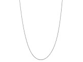 10k White Gold 1.75mm Diamond Cut Rope Chain 18 inches