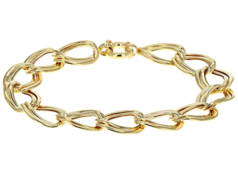 78225e4c16fb0 Men S Curb Link Bracelet 10k Yellow Gold 8 Length - The Best Ancgweb ...