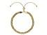 10k Yellow Gold Hollow Byzantine Link Sliding Adjustable Bracelet