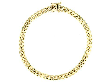 1606c0f1b84 10k Yellow Gold Cuban Link Bracelet 8.5 inch 5mm - CNG798   JTV.com