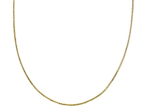 10k Yellow Gold Snake Link Sliding Adjustable Chain Necklace 22 inch