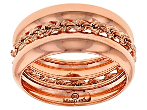 10k Rose Gold Band Ring