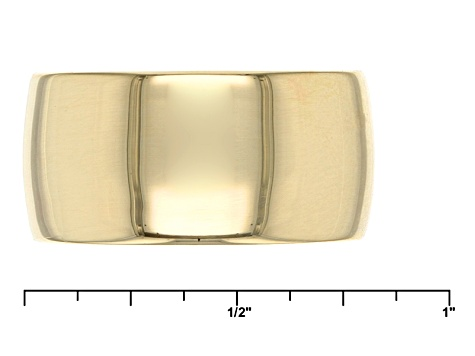 10k Yellow Gold Band Ring 9mm