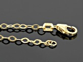 14k Yellow Gold Rolo Link Necklace 18 inch
