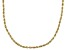 14K Yellow Gold 2.5mm Rope Chain 20 Inch