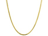 14K Yellow Gold Foxtail 24 Inch Chain Necklace