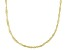 14K Yellow Gold Singapore Chain Necklace 16