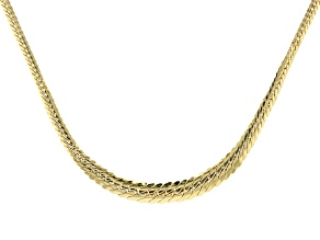 Splendido Oro™ Divino 14k Yellow Gold Graduated Mosaico Necklace 18 Inch