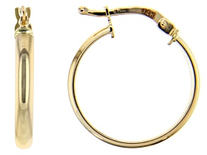 Splendido Oro™ 14K Yellow Gold High Polished Hoop Earrings