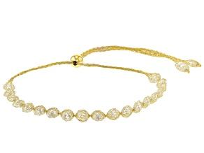 Splendido Oro™ 14K Yellow Gold Bella Luce® Cubic Zirconia Tuscan Crochet Bolo 10