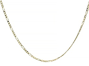 "Splendido Oro™ 14K Yellow Gold 20"" Figaro Necklace"