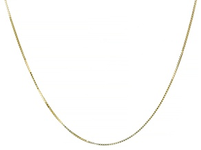Splendido Oro™ 14K Yellow Gold 20 Inch Box Chain Necklace