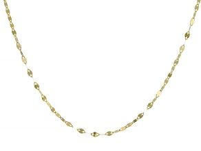 "Splendido Oro™ 14K Yellow Gold 18"" Valentino Necklace"