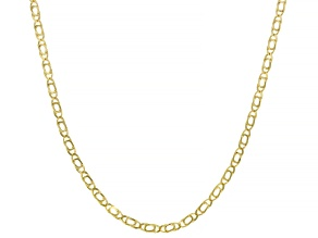 Splendido Oro™ 14K Yellow Gold 18 Inch Tiger Eye Chain Necklace