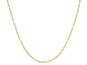 14k Yellow Gold Mariner Chain 20 inch Necklace