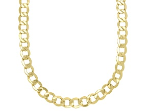 Splendido Oro™ 14K Yellow Gold 5.3MM Curb Chain 18 Inch Necklace