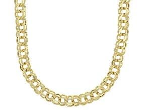 Splendido Oro™ 14K Yellow Gold Diamond-Cut 4.30MM Garibaldi Chain 18 Inch Necklace
