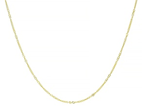 Splendido Oro™ 14K Yellow Gold Curb 18 Inch Chain Necklace