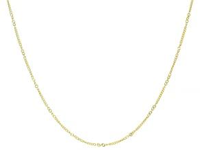 Splendido Oro™ 14K Yellow Gold Curb 18 Inch Chain Necklace