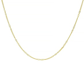 Splendido Oro™ 14K Yellow Gold Curb 20 Inch Chain Necklace